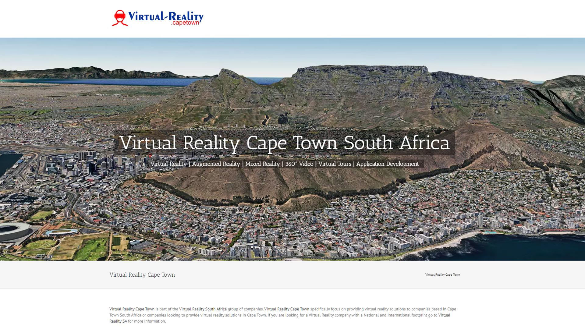 virtual reality cape town