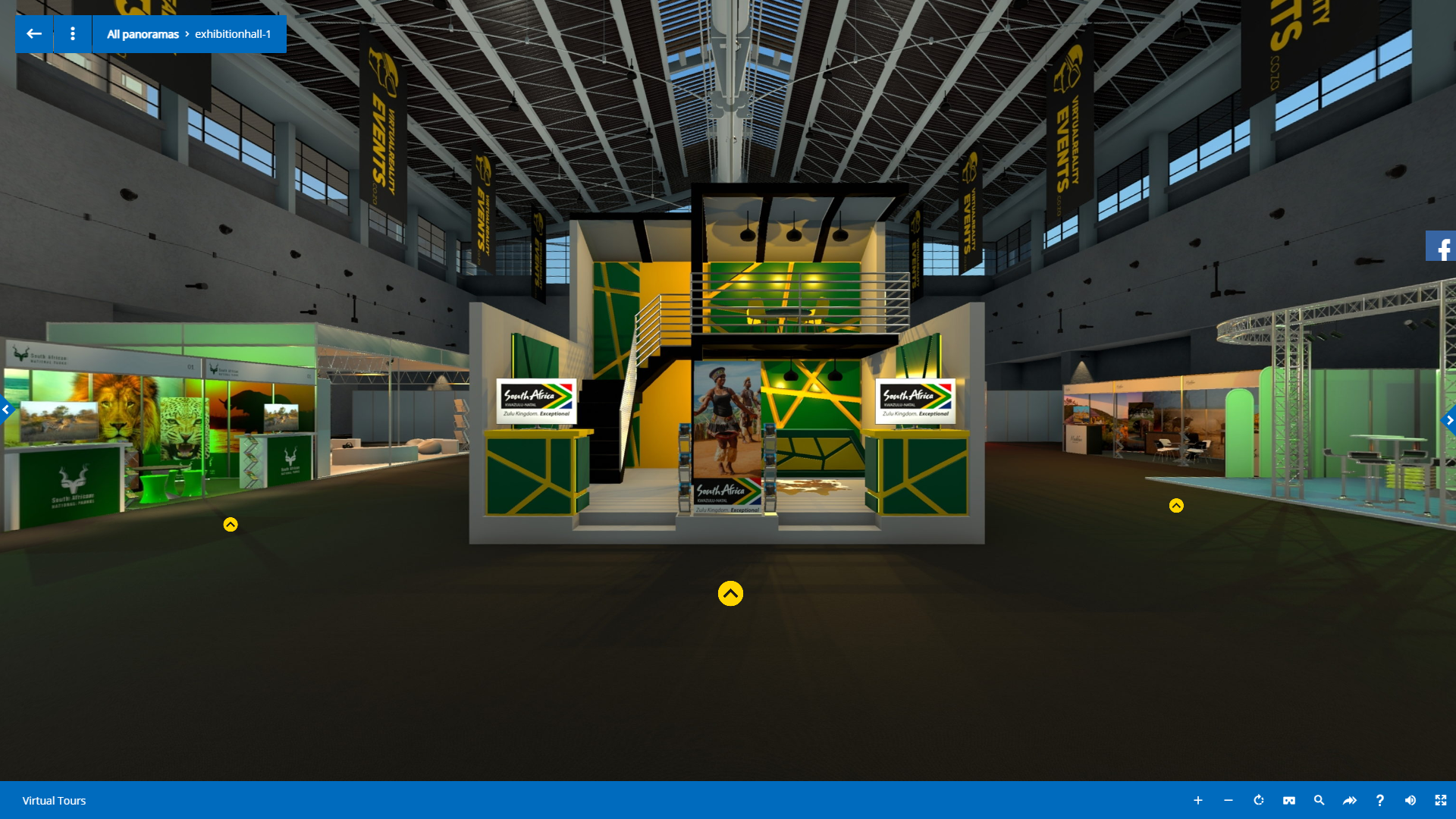 virtual reality tourism expo