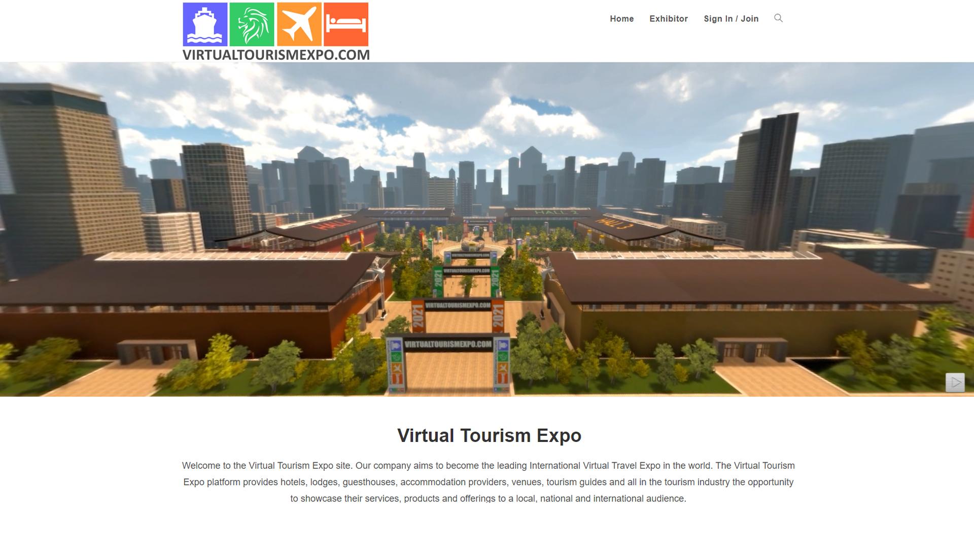 virtual tourism expo